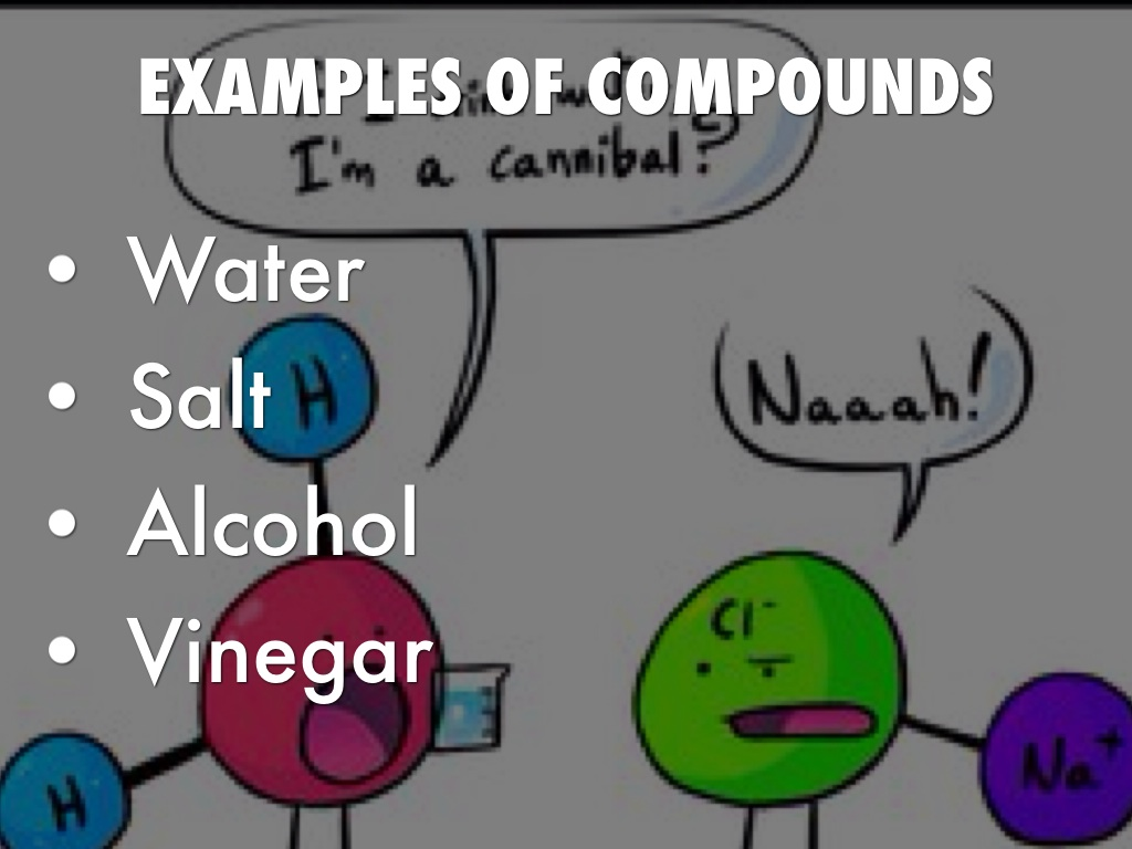 The Differences Between Elements Compounds And