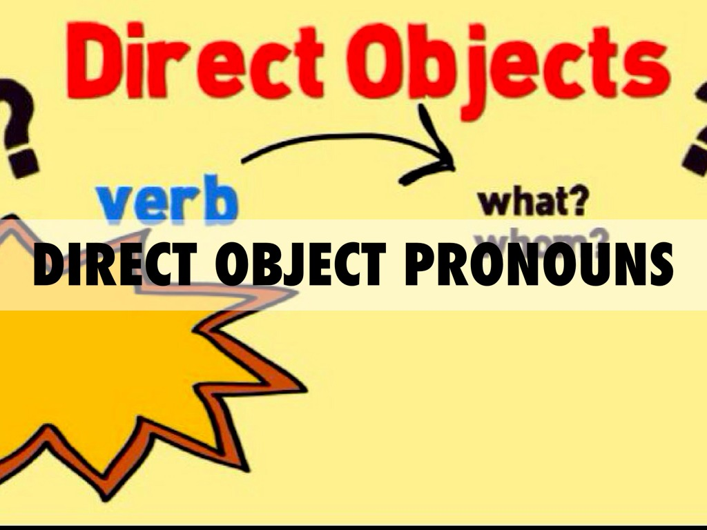 Direct And Indirect Objects By Bryce Rosellini