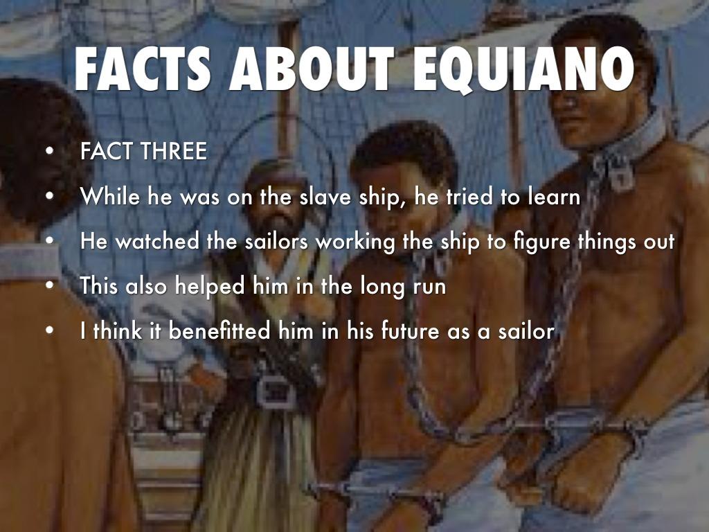 Olaudah Equiano By Faith White