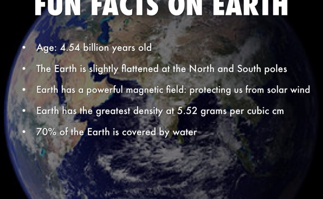 Interesting Facts About Earth Just Fun Facts - Instumental ST