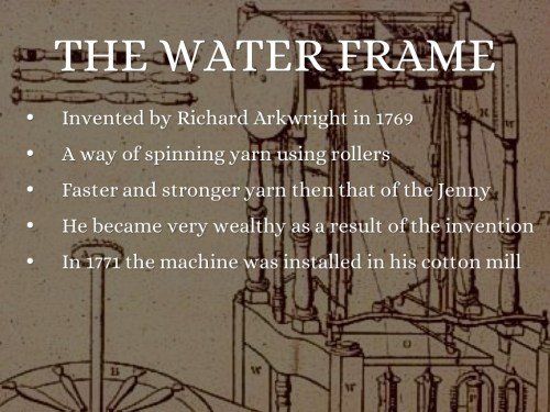 small resolution of the spinning jenny