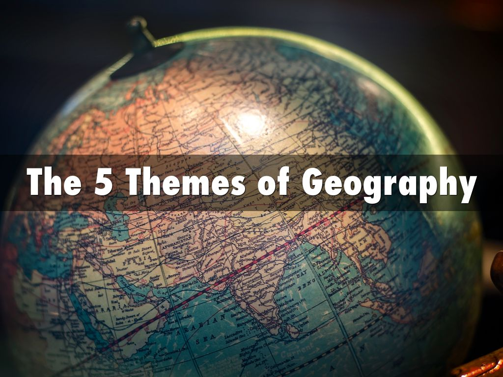 What Does Geography Mean