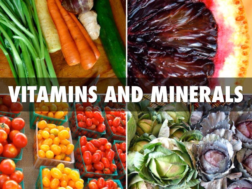Vitamins And Minerals By Cooper Johnson