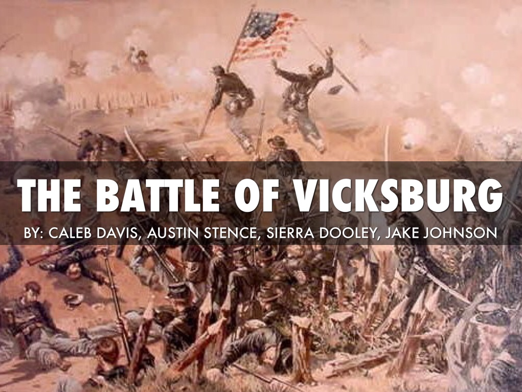 The Battle Of Vicksburg by Caleb Davis