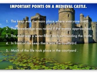 medieval castles castle keep lived