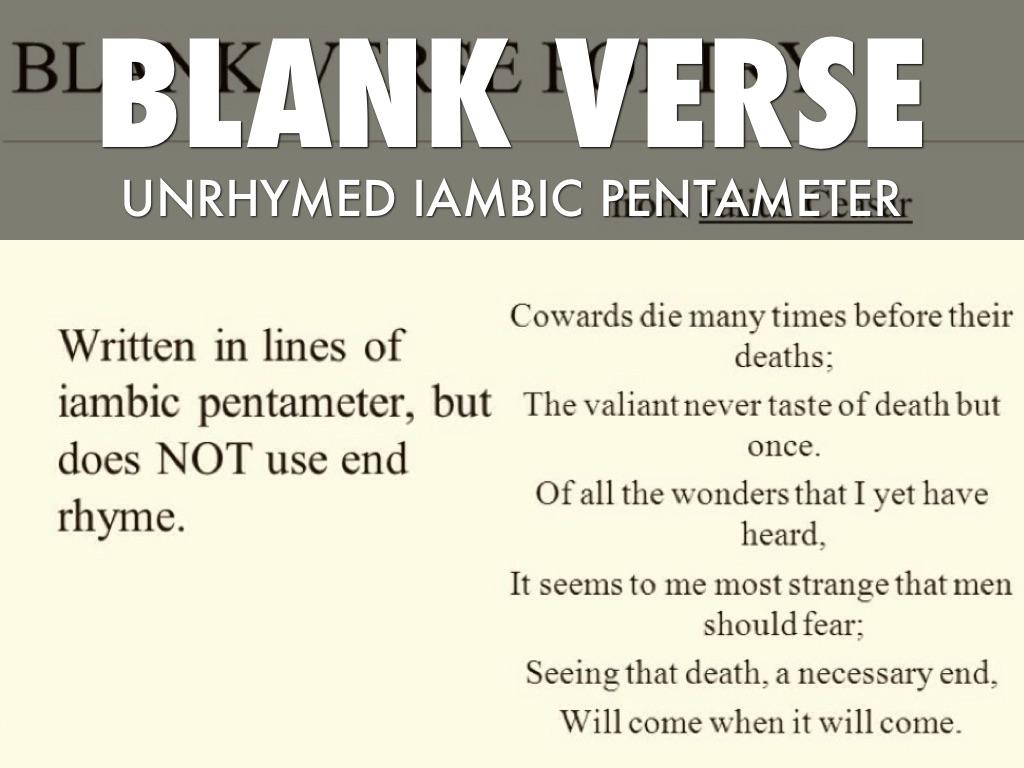 Poetry Terms By Blair Blakeney