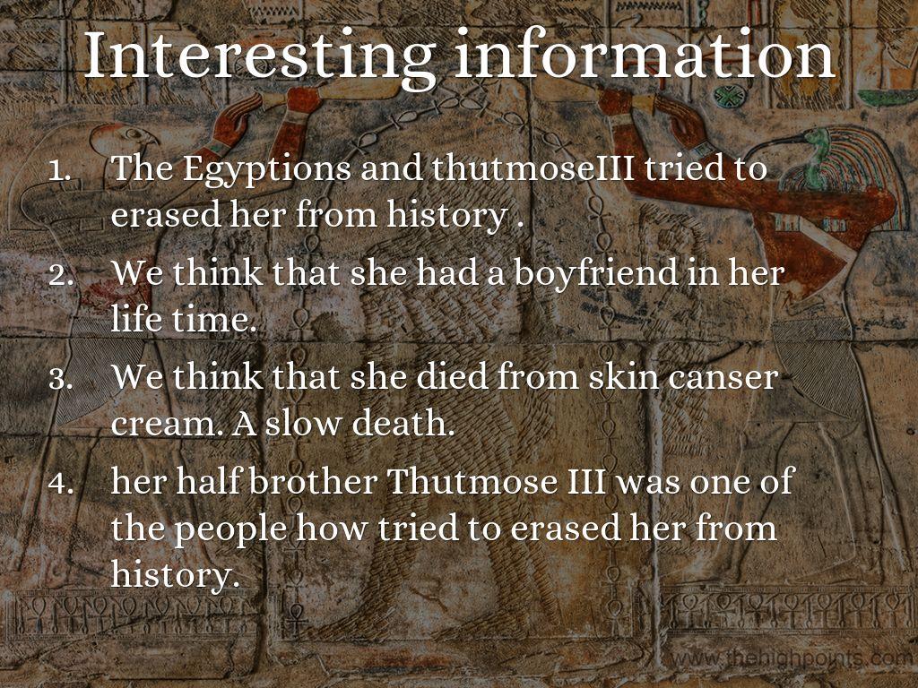 Queen Hatshepsut By Rowi