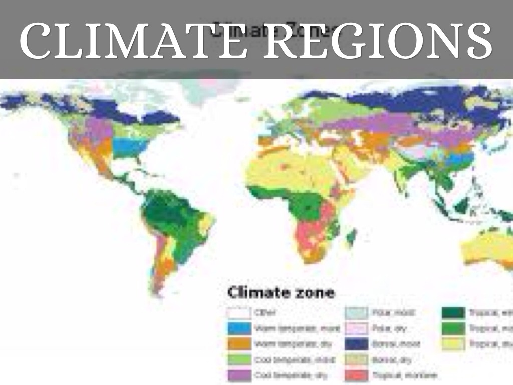 Climate Regions By Lukas Pohlmann