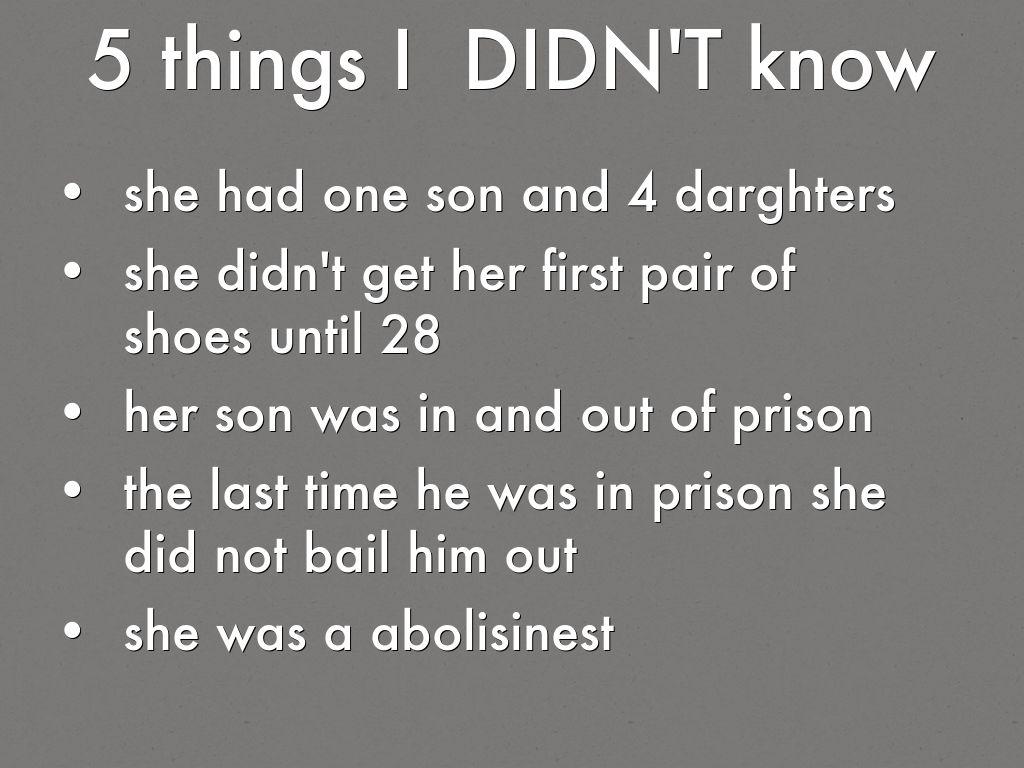 Sojourner Truth Facts For Kids  Kids Matttroy