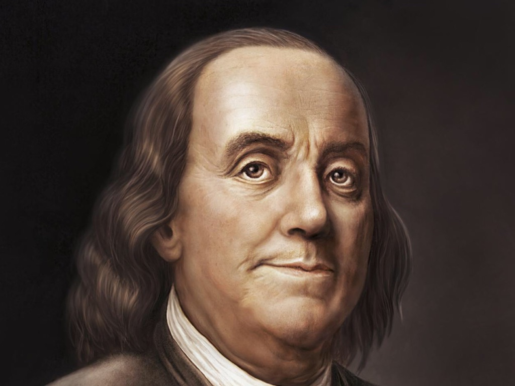 Benjamin Franklin By Louis Vences