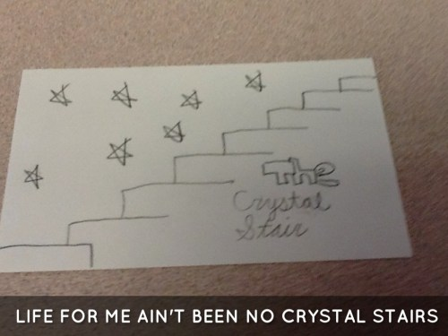small resolution of life for me ain t been no crystal stairs