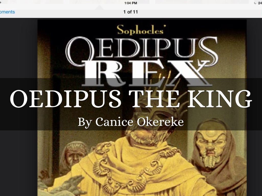 Oedipus The King By Caniceokereke