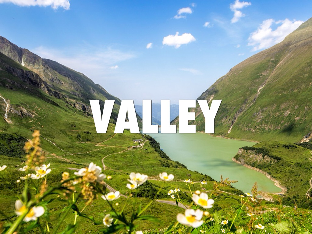 Types Of Landforms A Valley Pictures To Pin