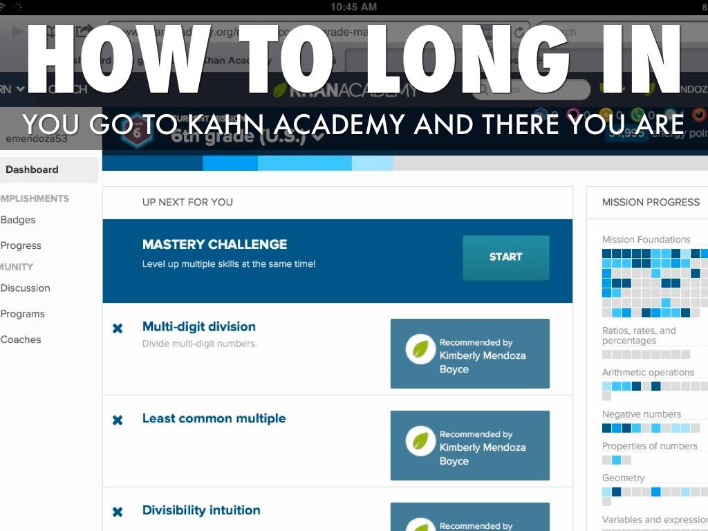 A13 Khan Academy By Evelyn A13
