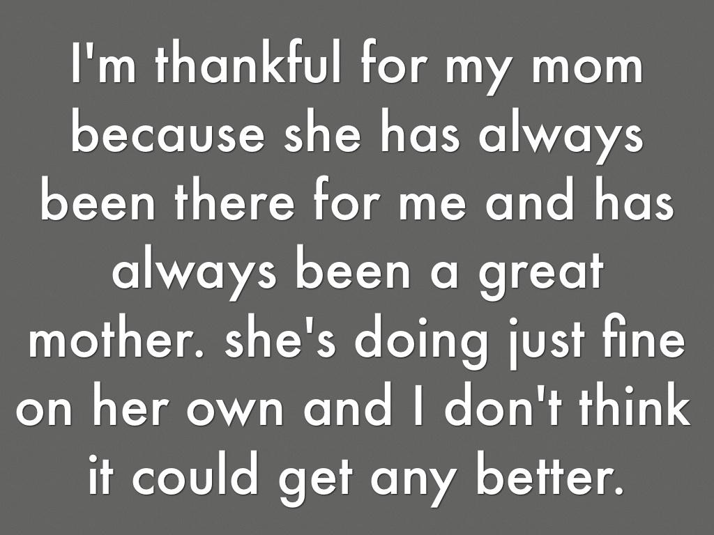 What I M Thankful For By Hannah Giurlanda