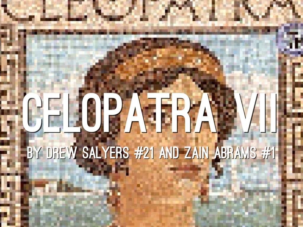 Cleopatra By Zain Abrams