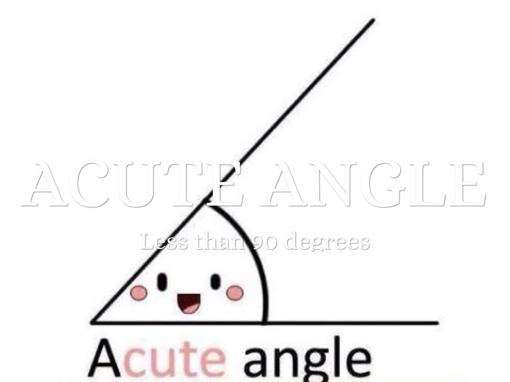 Acute Angle By Austin Potter