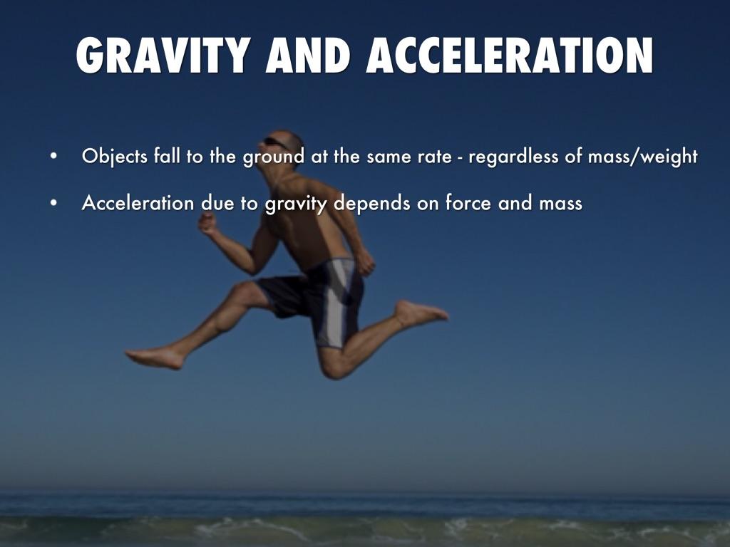 Gravity And Motion By Ryan Li
