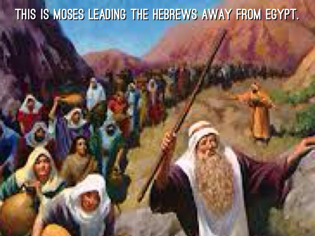 Leaders Of The Hebrews By Matthias Nascimento