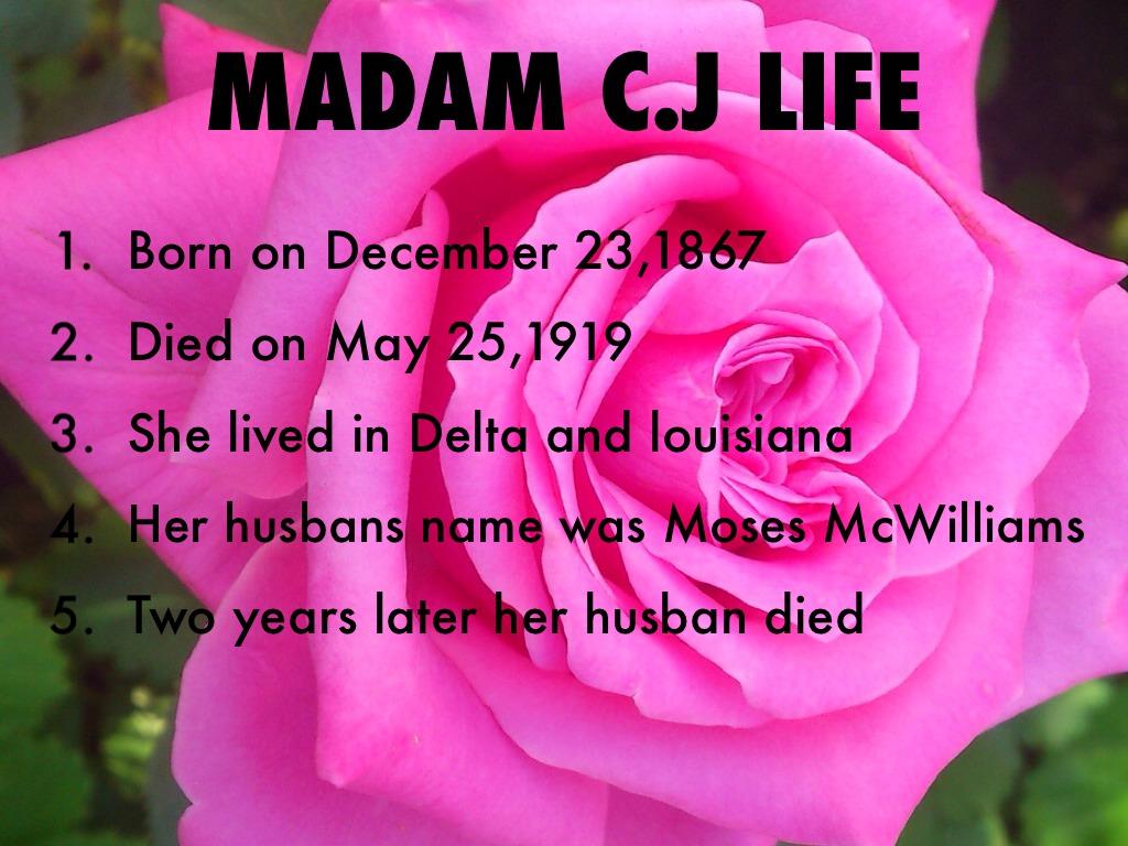 Madam C J Walker By Dynaja Pratt