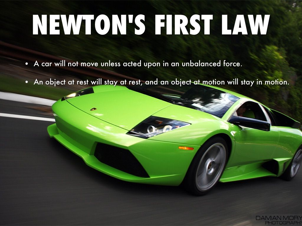 Newton S Laws Of Motion By Finn Awesome