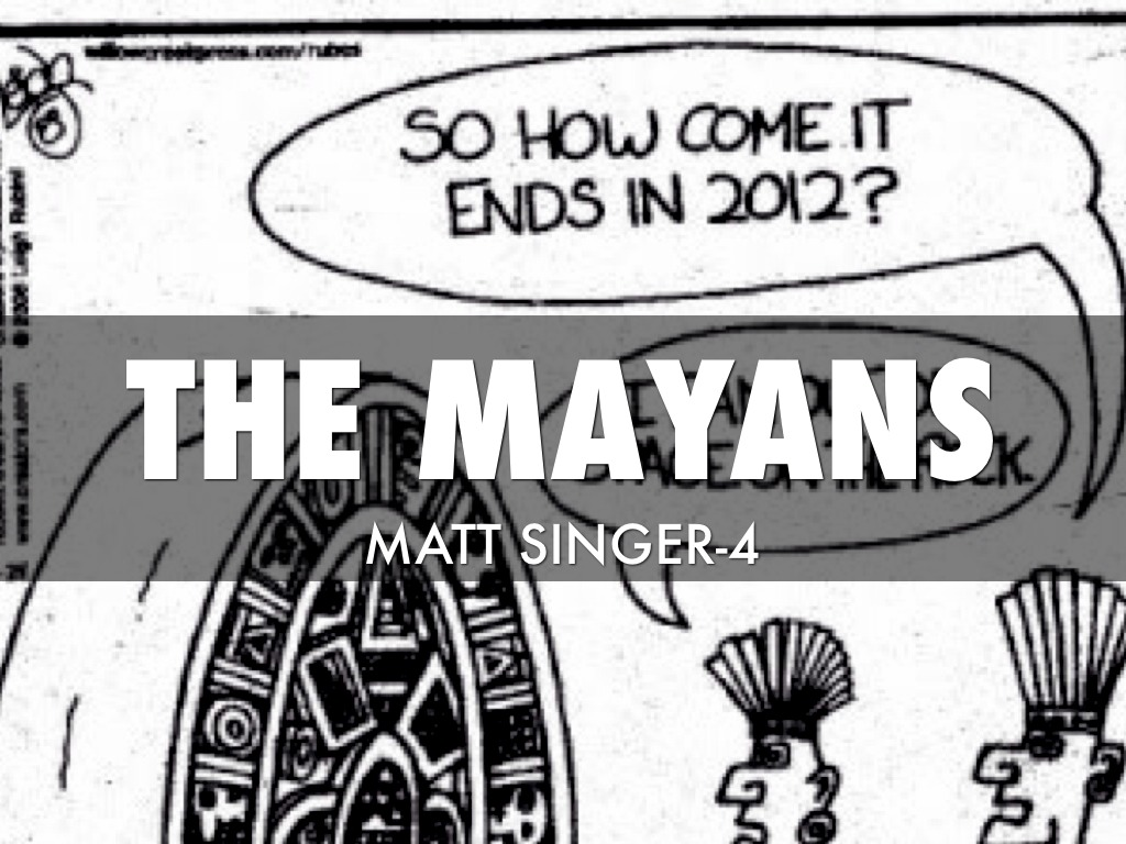 The Mayans by mormon.matt