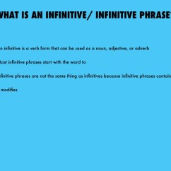 Diagram Appositive Phrases 2004 Ford Taurus Engine Infinitive Phrase Pictures To Pin On Pinterest Thepinsta