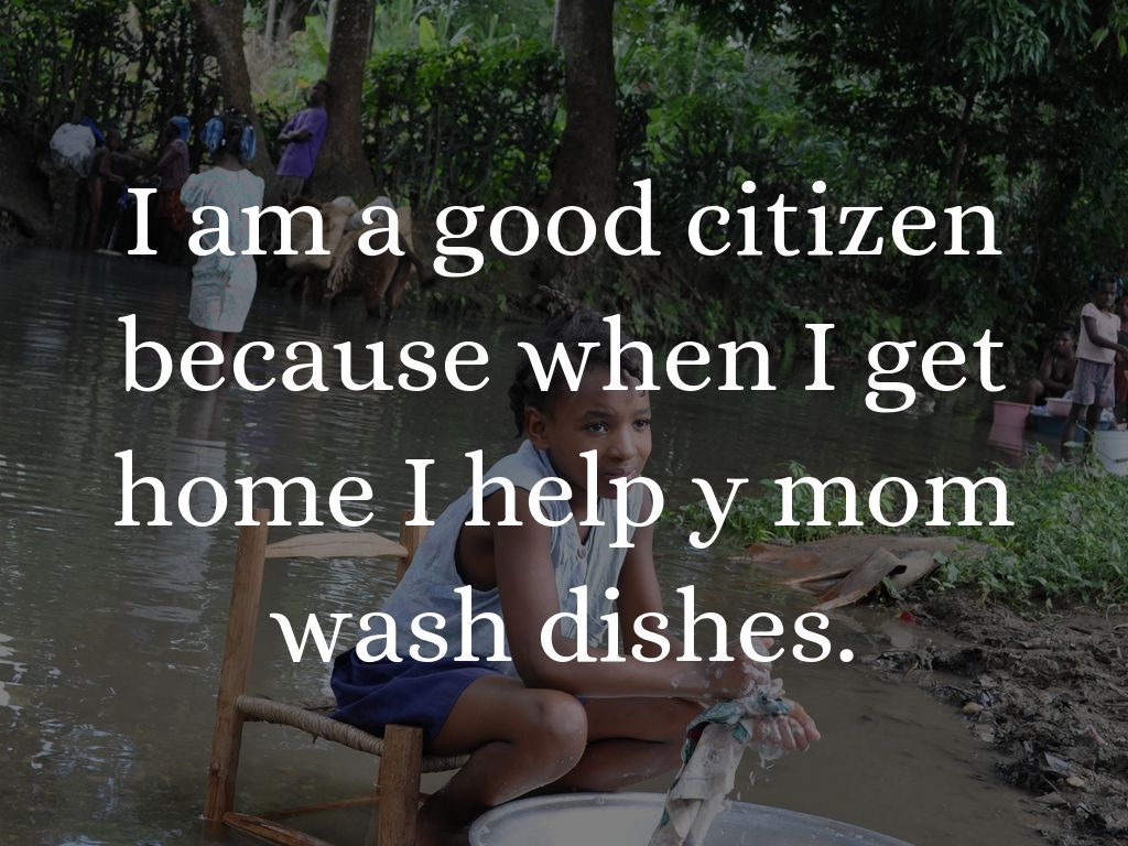 Me Being A Good Citizen By M Lcerra
