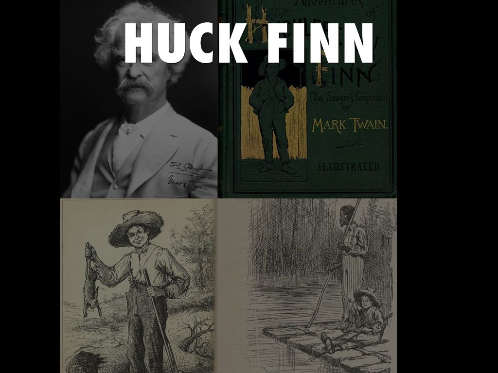 Huckleberry Finn Reading By A Faulkner