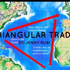Columbian Exchange Diagram Y Plan Wiring Honeywell Triangular Trade By Rubi2746
