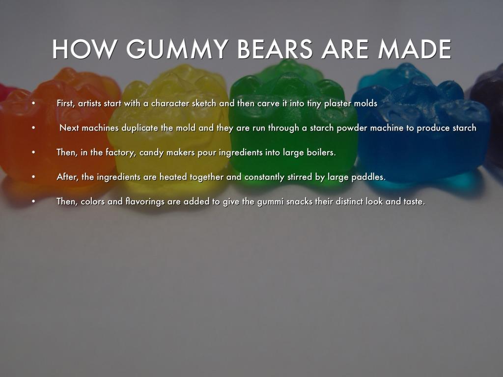 Gummy Bears by Emily Gao