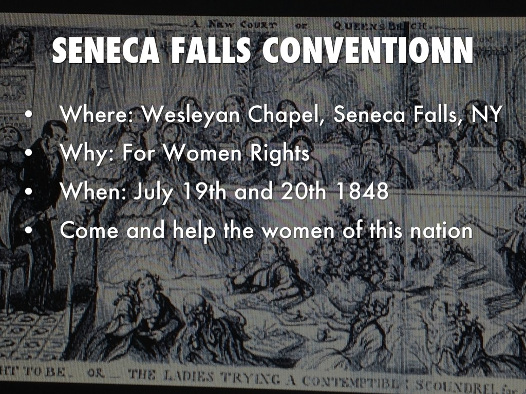 Seneca Falls Convention Coursework Help