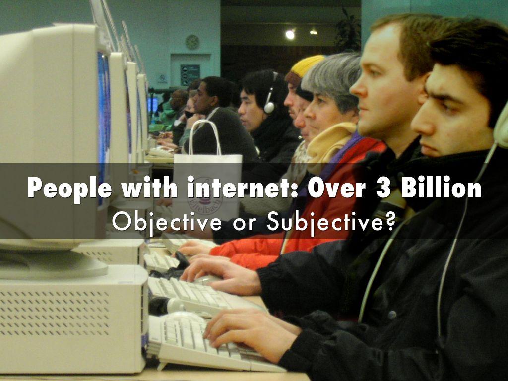 Objective Vs Subjective By Jeannie Beard