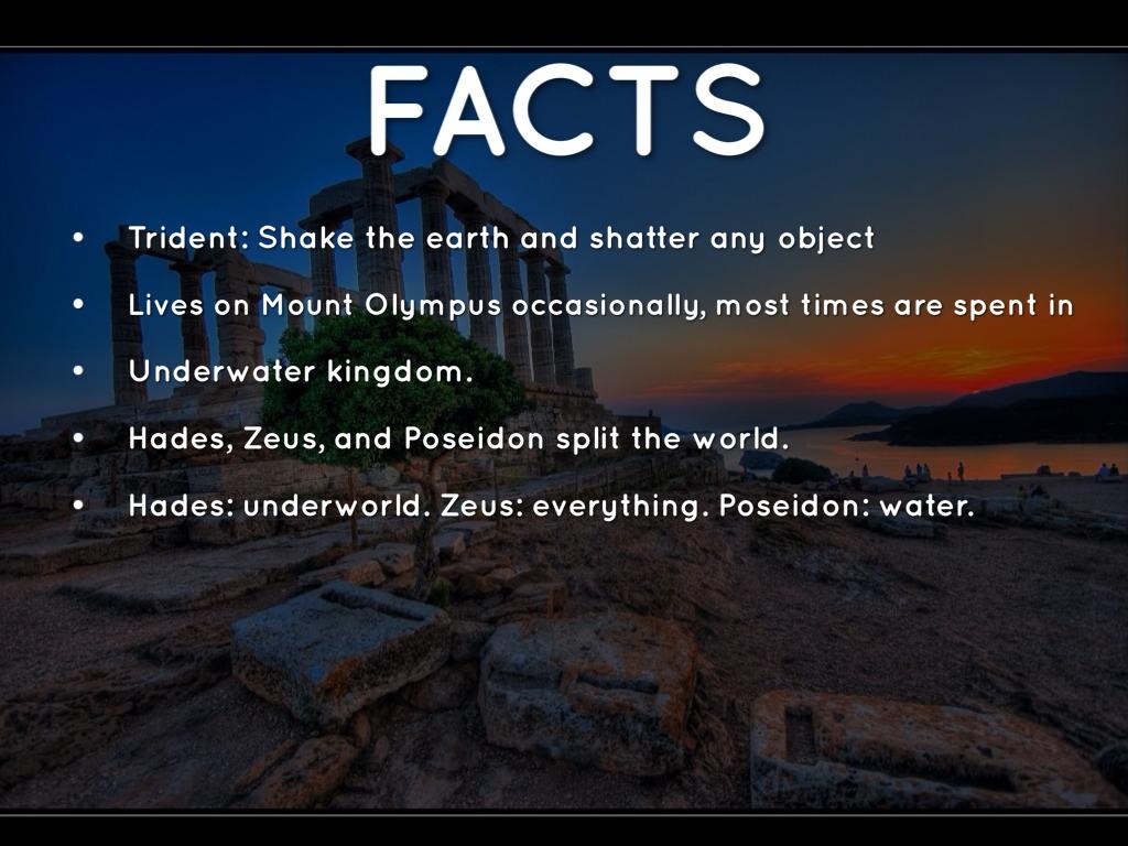 Poseidon Facts And Myths - Maison design d'intérieur et