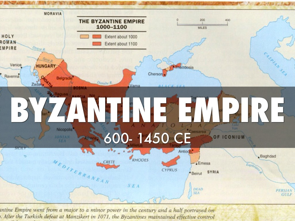 Byzantine Empire By Carrie By Carrie Sayre