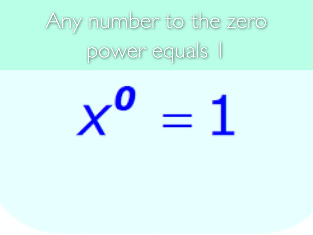 Exponent Rules By Mswnbps Ameliag