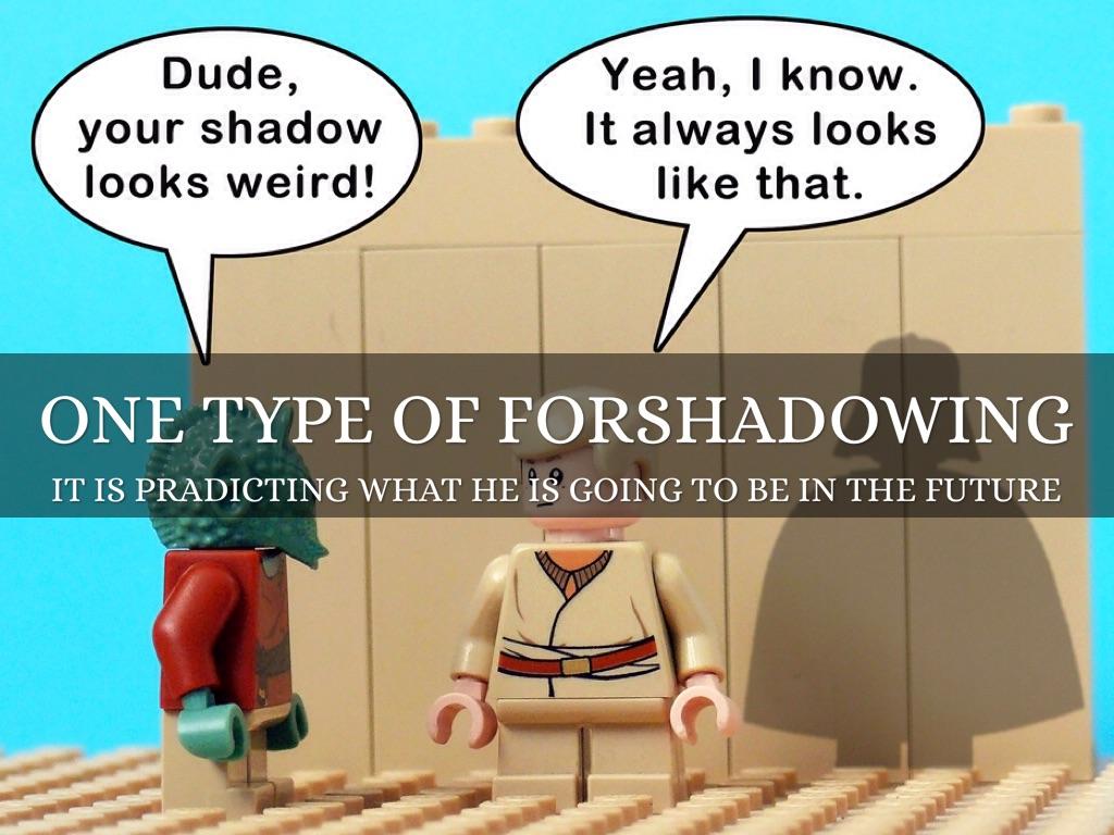 Foreshadowing By Lori Mandonado