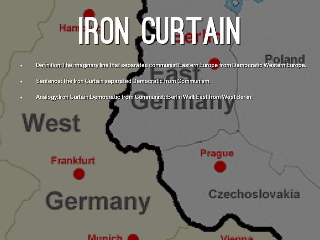 Iron Curtain Definition
