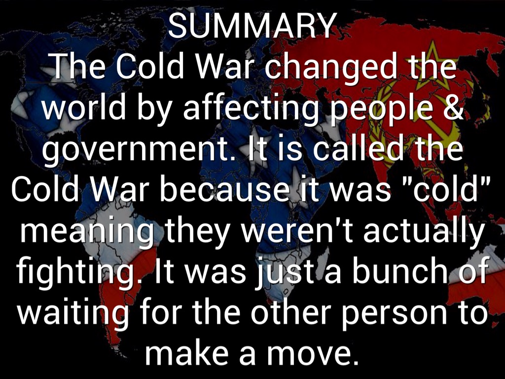 Cold War By Caleb Horton