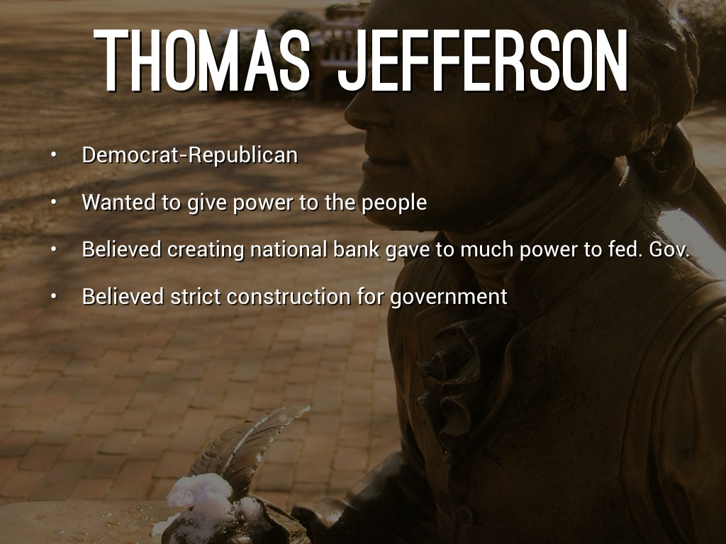 Jefferson Vs Hamilton Alli Winslow By