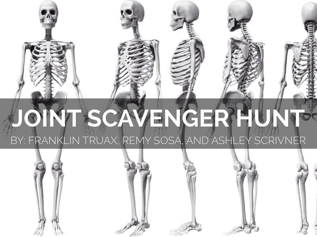 Joint Scavenger Hunt by Franklin Truax
