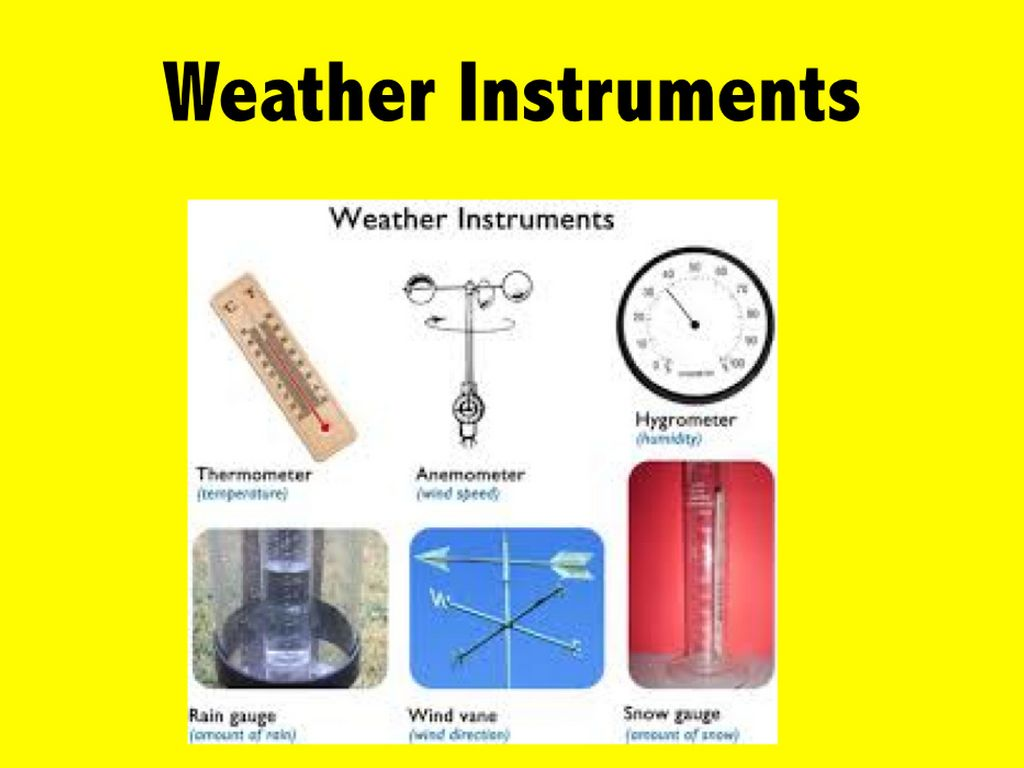 Weather Instruments By Jackie Mulkey