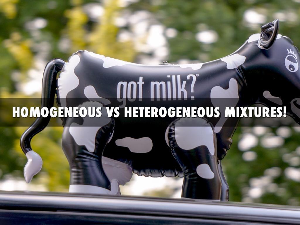 Homogeneous Vs Heterogenous Mixtures By Livipie