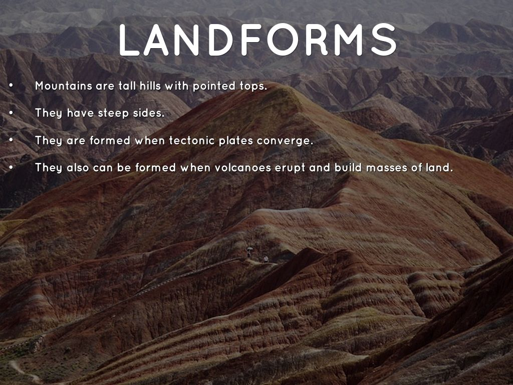 Erosion Weathering Land Forms And Bo S Of Water By