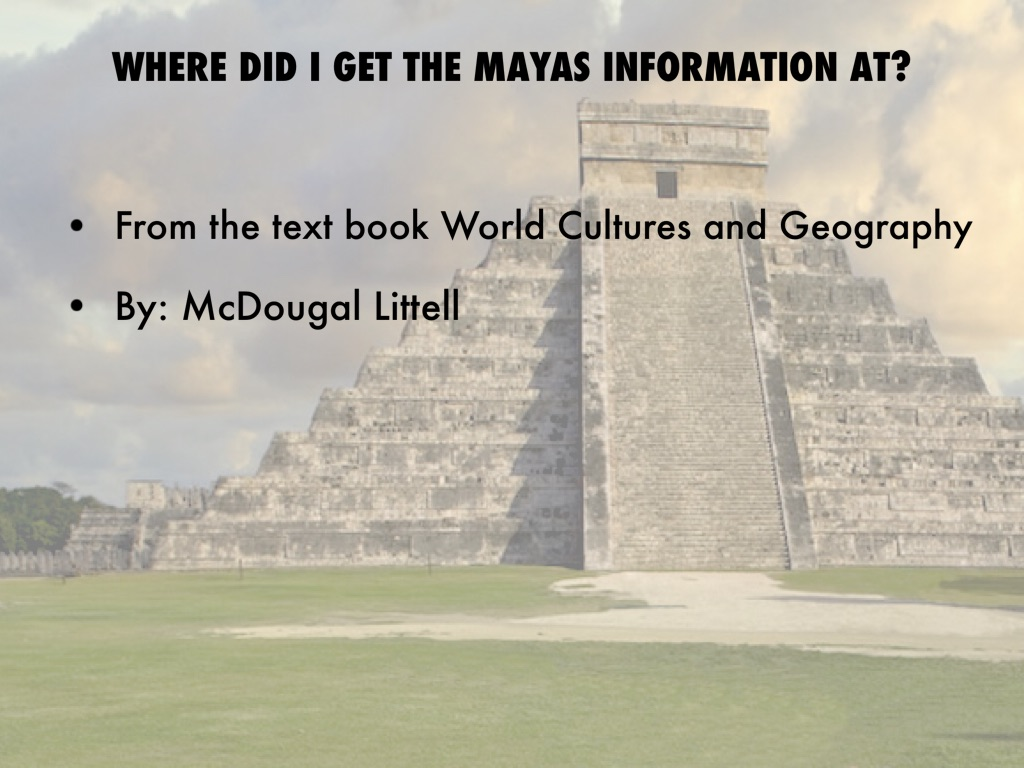 The Maya By Baylee Middleton