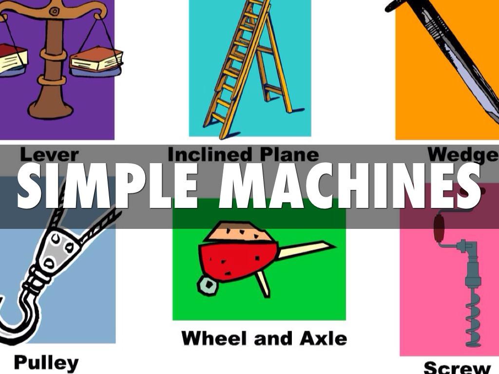 Simple Machines By Jordan Thurmond