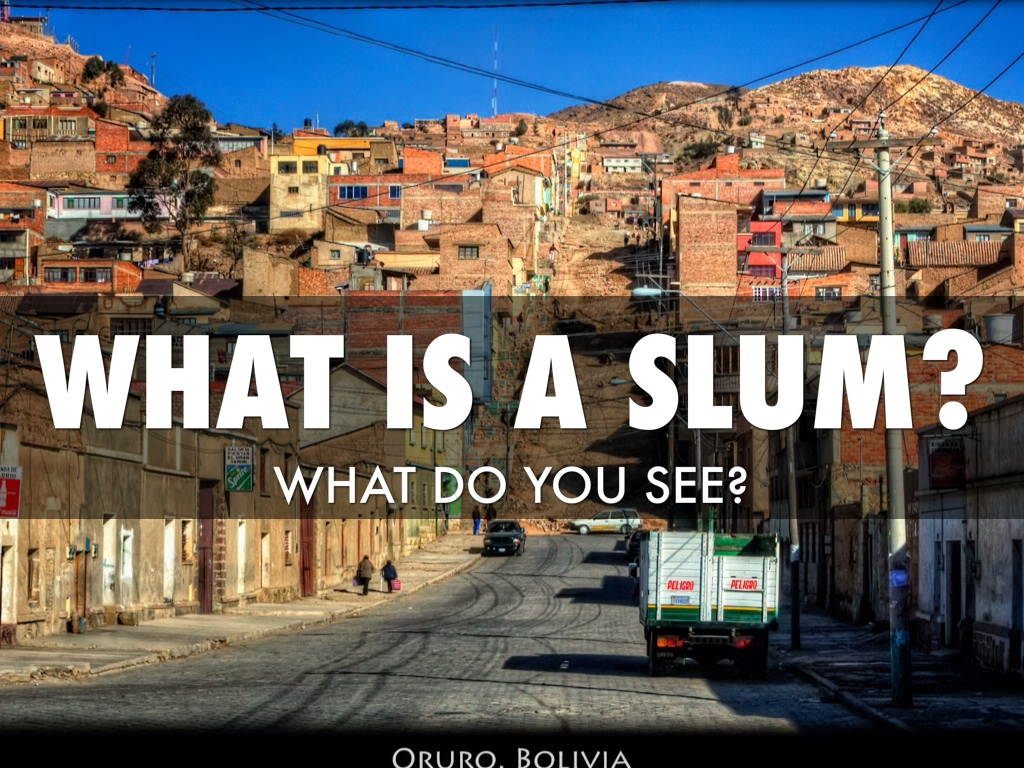 What is a slum by Moi Litchfield