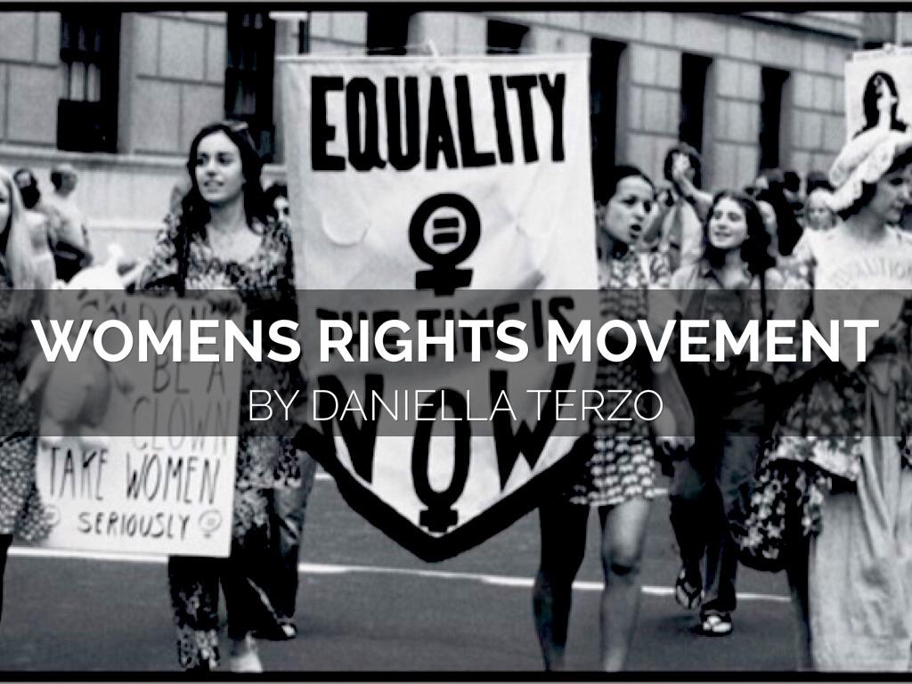 Women S Rights Movement By Daniella Terzo