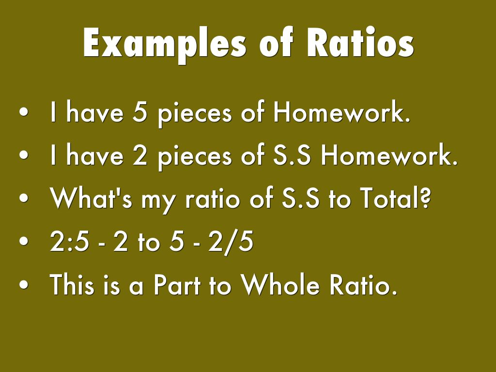 Ratios Rates And Proportions By Jmw