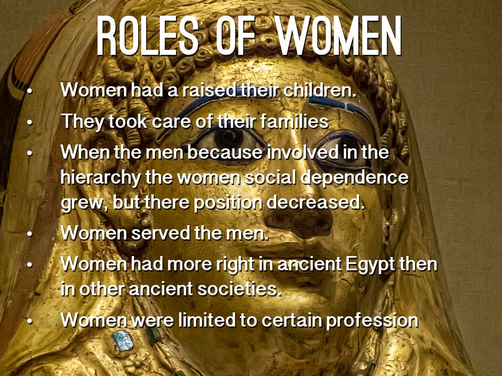 Ancient Egyptian Society By